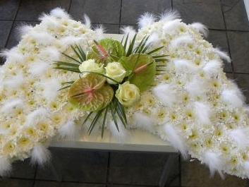 Angel Wings Funeral Flowers Eltham